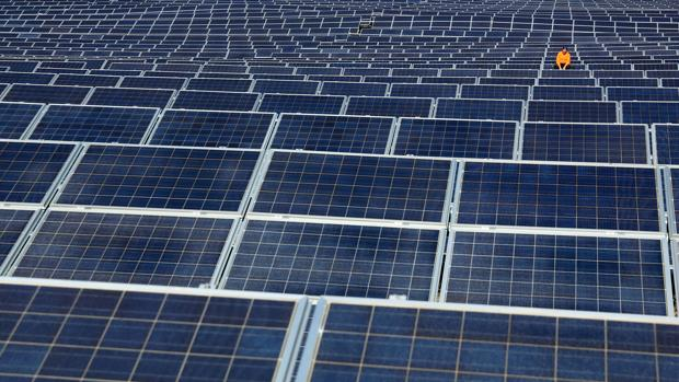 Placas fotovoltaicas en una instalación de generación eléctrica a partir de la energía solar