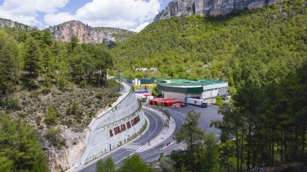 Fábrica de Solán de Cabras en Beteta (Cuenca)