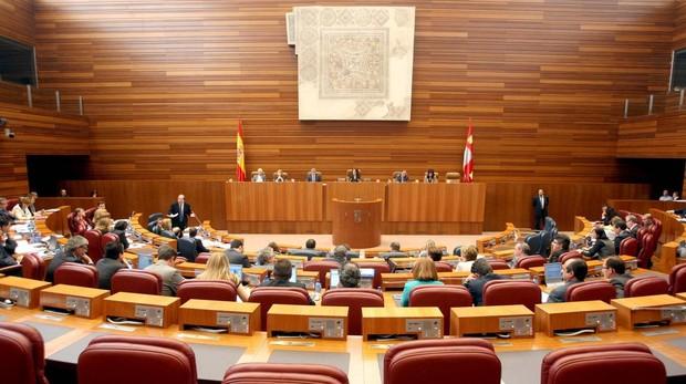 Imagen del hemiciclo de las Cortes autonomicas