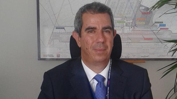 Alejandro Ibrahim, director del Aeropuerto de Teruel
