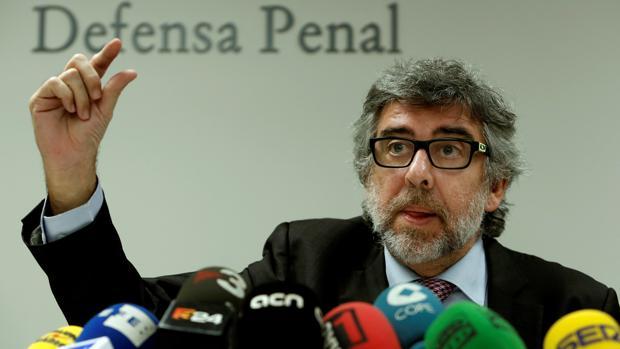 Jordi Pina, durante su intervención