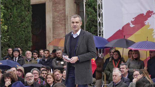 Toni Cantó, en el acto de España Ciudadana en Valencia