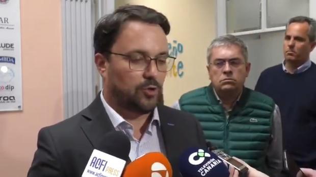 Asier Antona, Marco Aurelio Pérez y Miguel Jorge Blanco