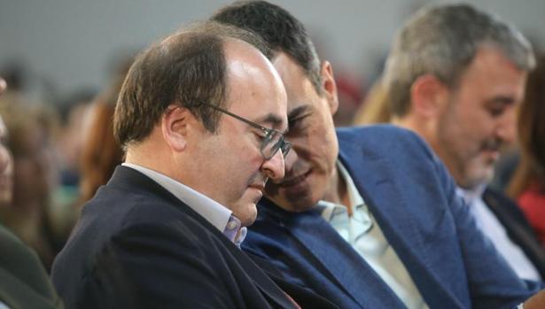 Sánchez e Iceta, hoy en Tarragona