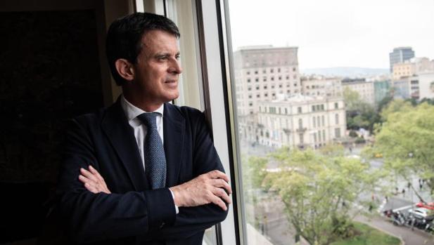 Valls, fotografiado esta semana, en la sede de su oficina electoral
