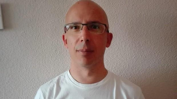 Juan Antonio Ortiz, maquinista de Metro