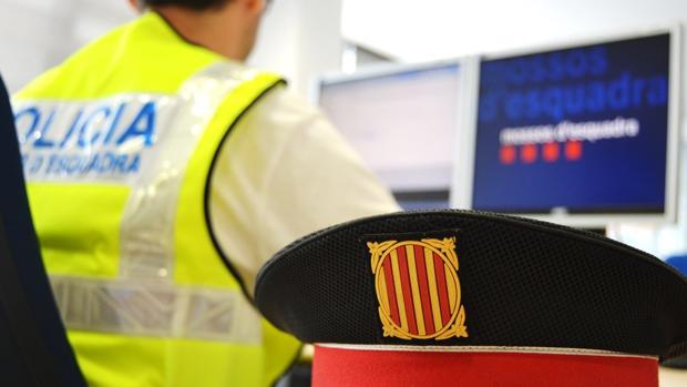 Un agente de los Mossos d'Esquadra, en una imagen de archivo