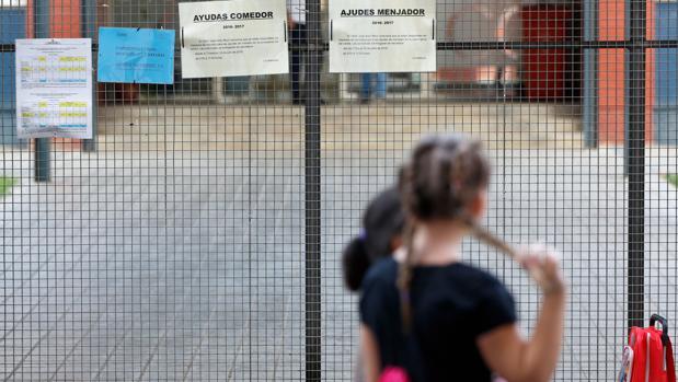 Imagen de un centro escolar de Valencia