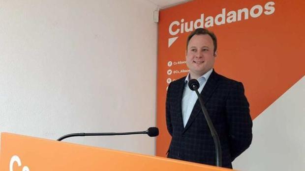 Vicente Casañ es el primer alcalde de Ciudadanos en una capital de Castilla-La Mancha