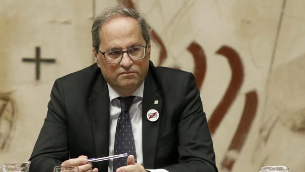 Torra llamó in extremis a la alcaldesa de su pueblo para que forzara un pacto entre fuerzas independentistas