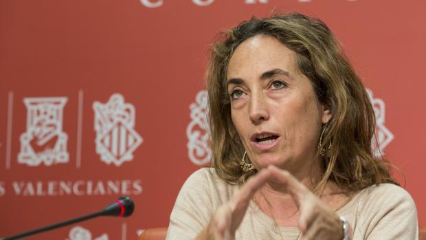 Carolina Punset, en una imagen de archivo en las Cortes Valencianas