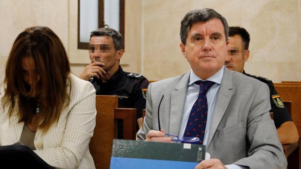Jaume Matas, en junio, durante el juicio del caso Son Espases