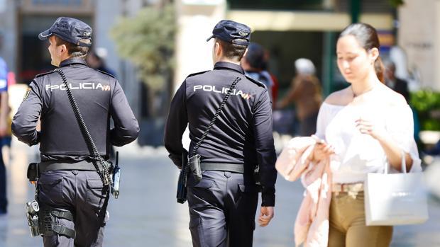 Imagen de archivo de la Policía en Valencia