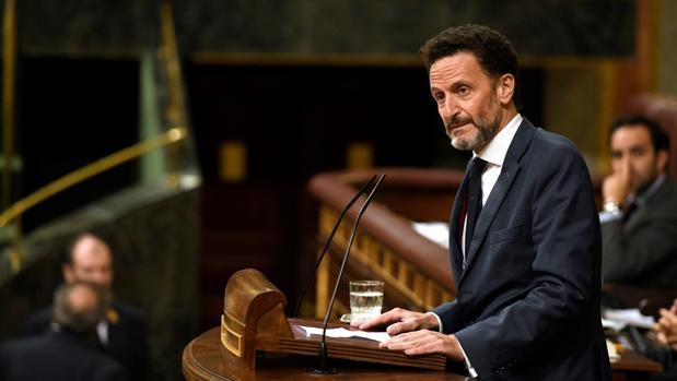 El abogado del Estado purgado por el Gobierno de Sánchez se estrena como diputado en una sesión de control