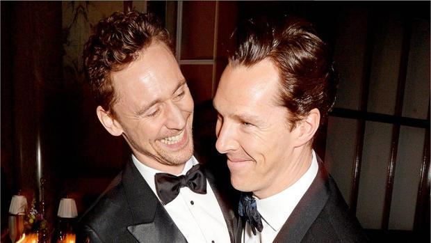 Tom Hiddleston y Benedict Cumberbatch
