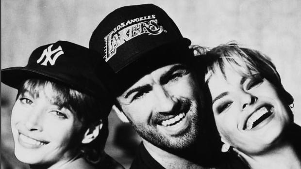 Fichó a Linda Evangelista y Christy Turlington, entre otras, para el vídeo de «Freedom»