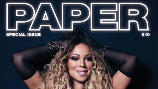 La portada de Paper con Mariah Carey