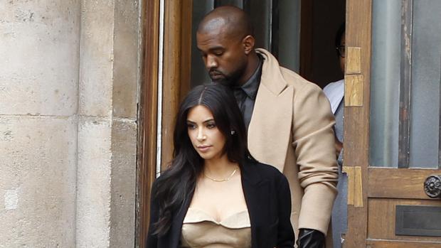 Kim Kardashian y Kanye West en una imagen de archivo