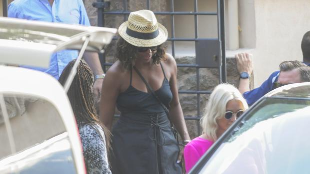 Michelle Obama en Palma de Mallorca el pasado verano