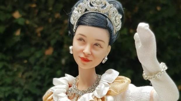 Una muñeca inspirada en la princesa Masako de Japón