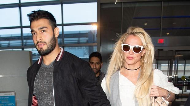 Britney Spears y Sam Asghari, su novio