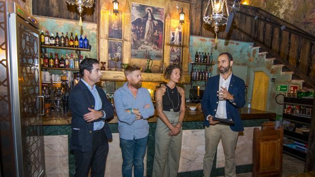 Antonio Luque, Daniel del Toro, Gigia Pellegrini e Ignacio Ochoa