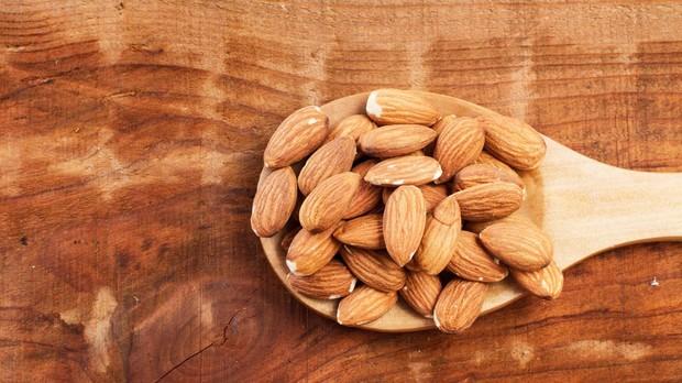 Las almendras forman parte del grupo de frutos secos con un mayor poder saciante