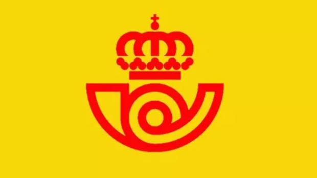 Logo de Correos en 1977