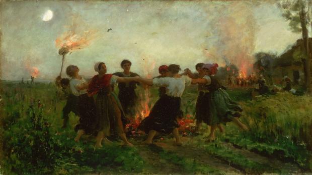 «La Fiesta de San Juan,» de Jules Breton