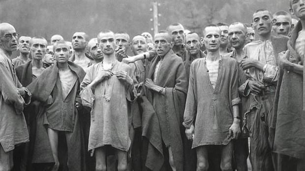 Presos de Mauthausen, en plena Segunda Guerra Mundial