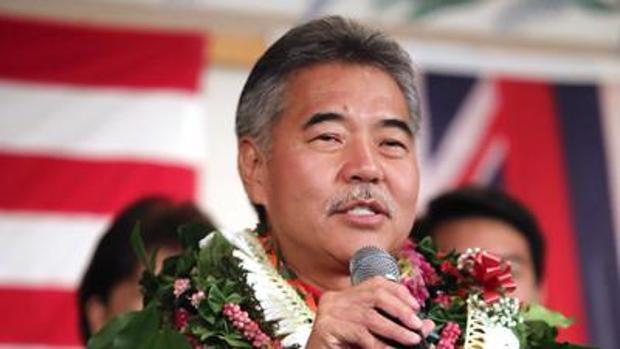 David Ige, gobernador de Hawaii, ha firmado este martes dos proyectos de ley con los que su estado apoyará el Acuerdo de París