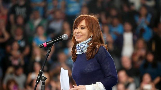 La expresidenta de Argentina y candidata al Senado Cristina Fernández de Kirchner