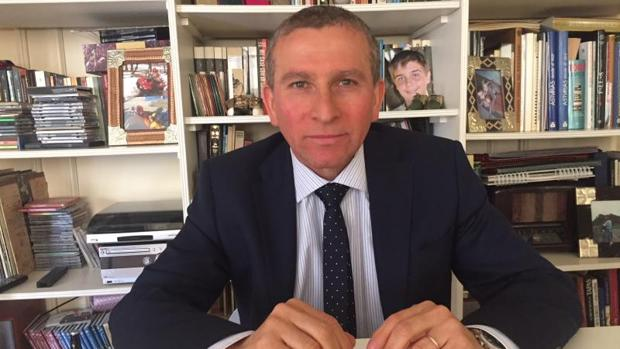 El ex suboficial de primera de la Armada José Óscar Gómez, durante la entrevista en Buenos Aires