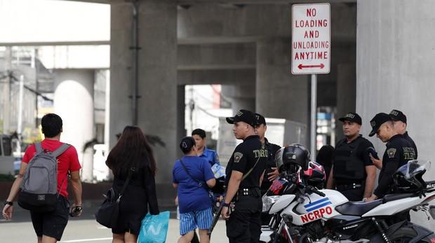 Aumenta la seguridad en las calles de Pasay, al sur de Filipinas