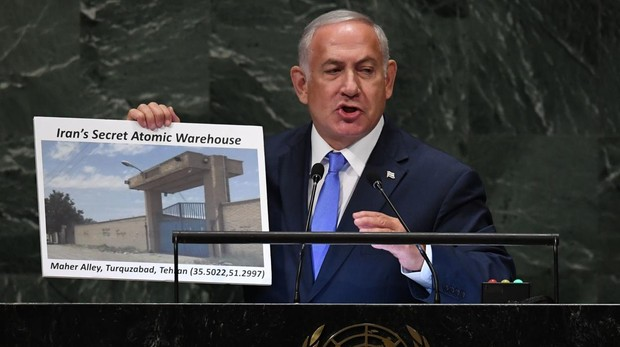 El presidente de Israel, Benjamin Netanyahu