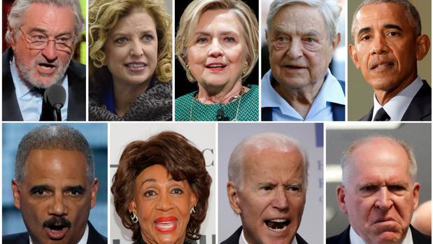 Fotos de todas las personalidades que recibieron paquetes bombas