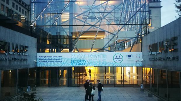 Vista del edificio The Square, en Bruselas, donde se celebró el evento