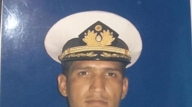 El capitán de corbeta Rafael Acosta Arévalo
