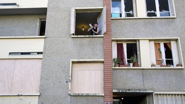 El edificio en el que vivía el terrorista Mohamed Merah