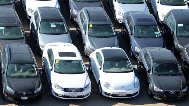 Campa de vehículos diésel de segunda mano