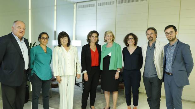 Teresa Ribera, ministra para la Transición Ecológica en funciones, asistió al encuentro «Stop pérdida de biodiversidad»