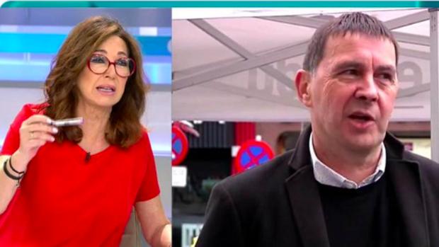 Ana Rosa ha opinado sobre la entrevista a Otegi de RTVE.