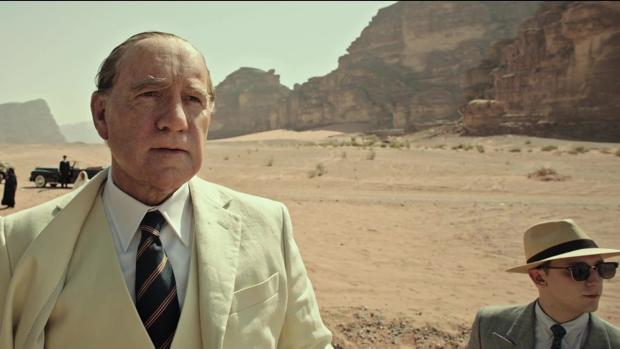 Fotograma del tráiler de «All the Money in the World», con Kevin Spacey