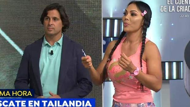 Fran Rivera también actuó como comentarista de la situación en Tailandia