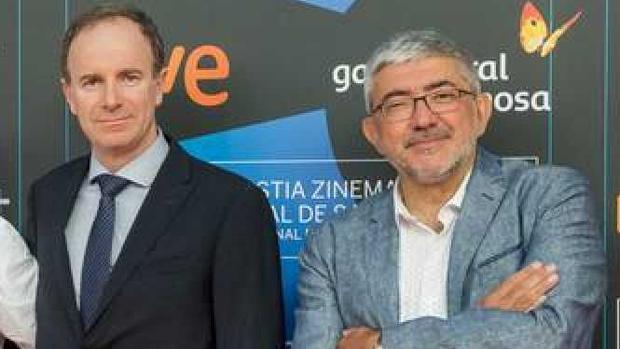 Toni Sevilla y Fernando López Puig
