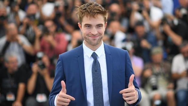 El actor Robert Pattinson en 2017 durante el Festival de Cannes