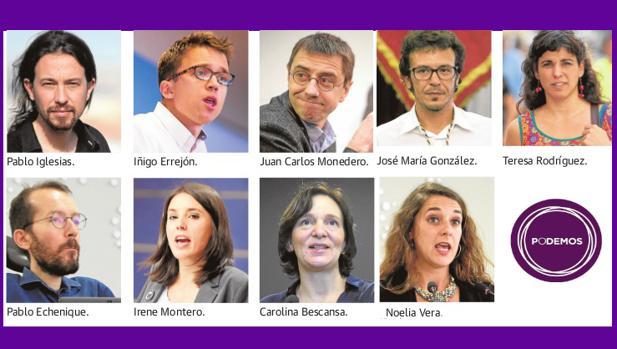 La cúpula nacional de Podemos se cita en Cádiz en el mes de julio