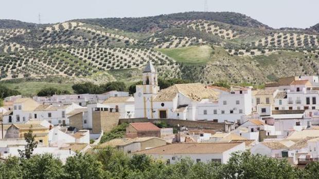 Vista del municipio de Badolatosa