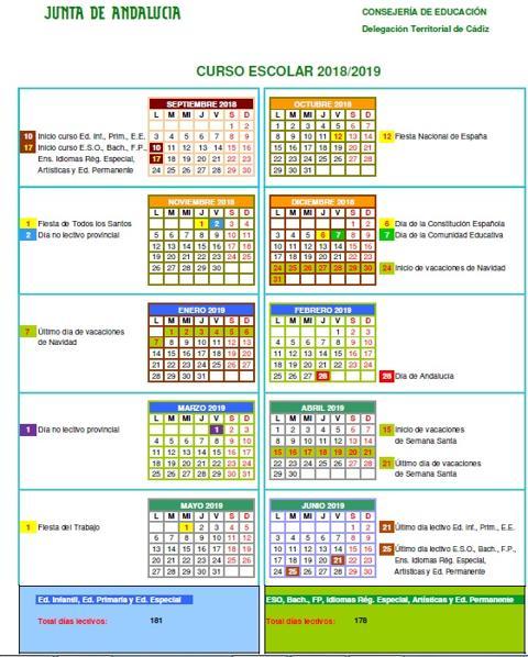 Calendario 1932 Espana.Descubre Los Festivos Marcados En El Calendario Escolar 2018