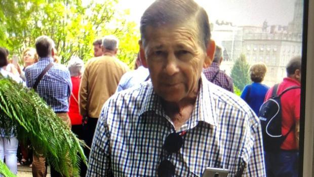 Joaquín Gómez Largo, desaparecido en Lora del Río